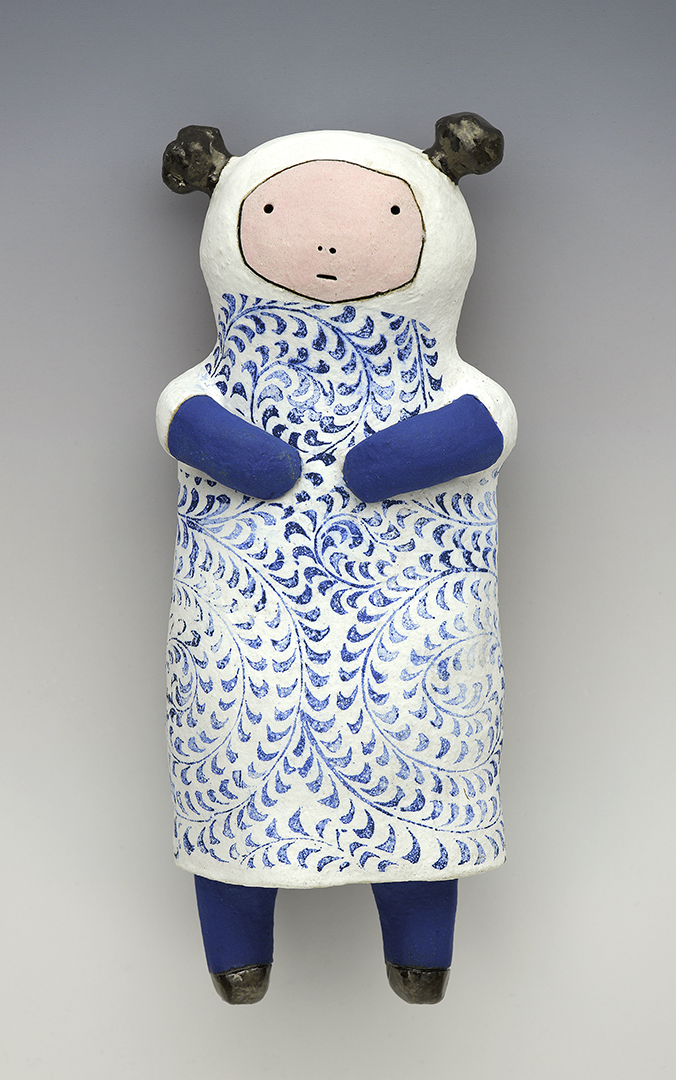 China Dolly Wally (with blue gloves)