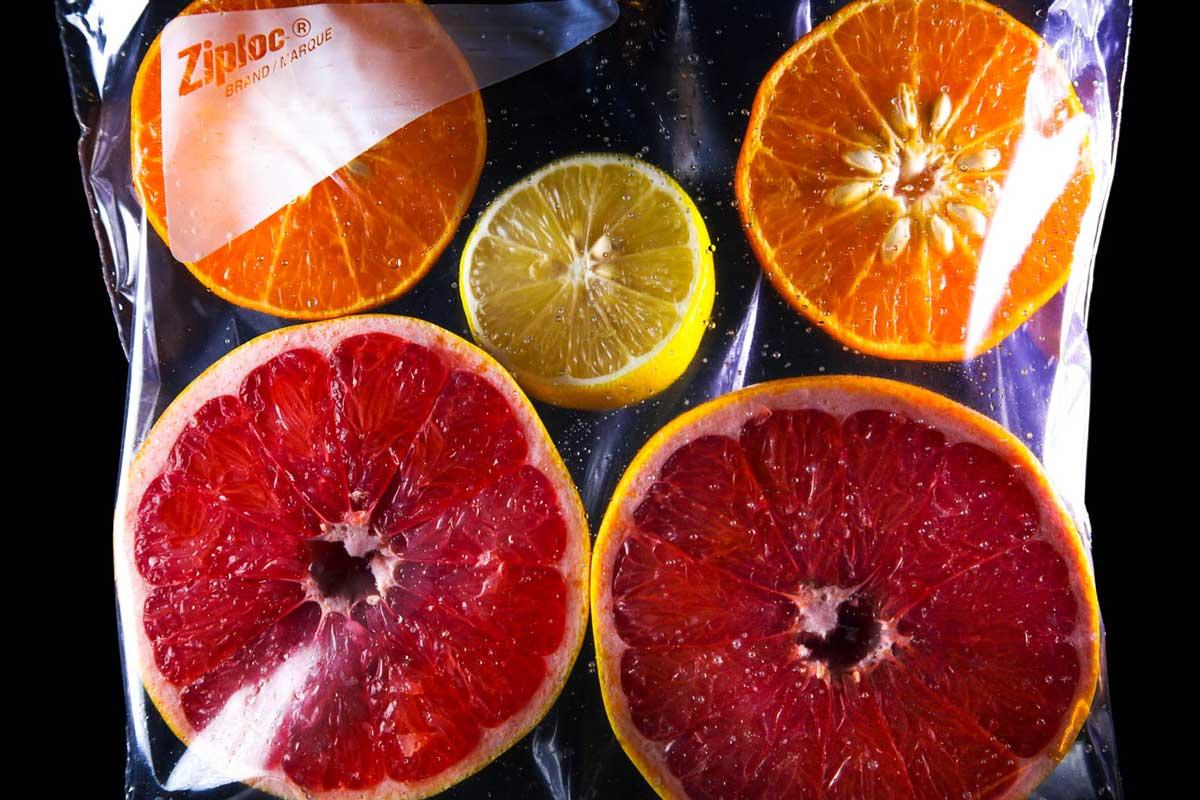 FruitInAZipLockBag