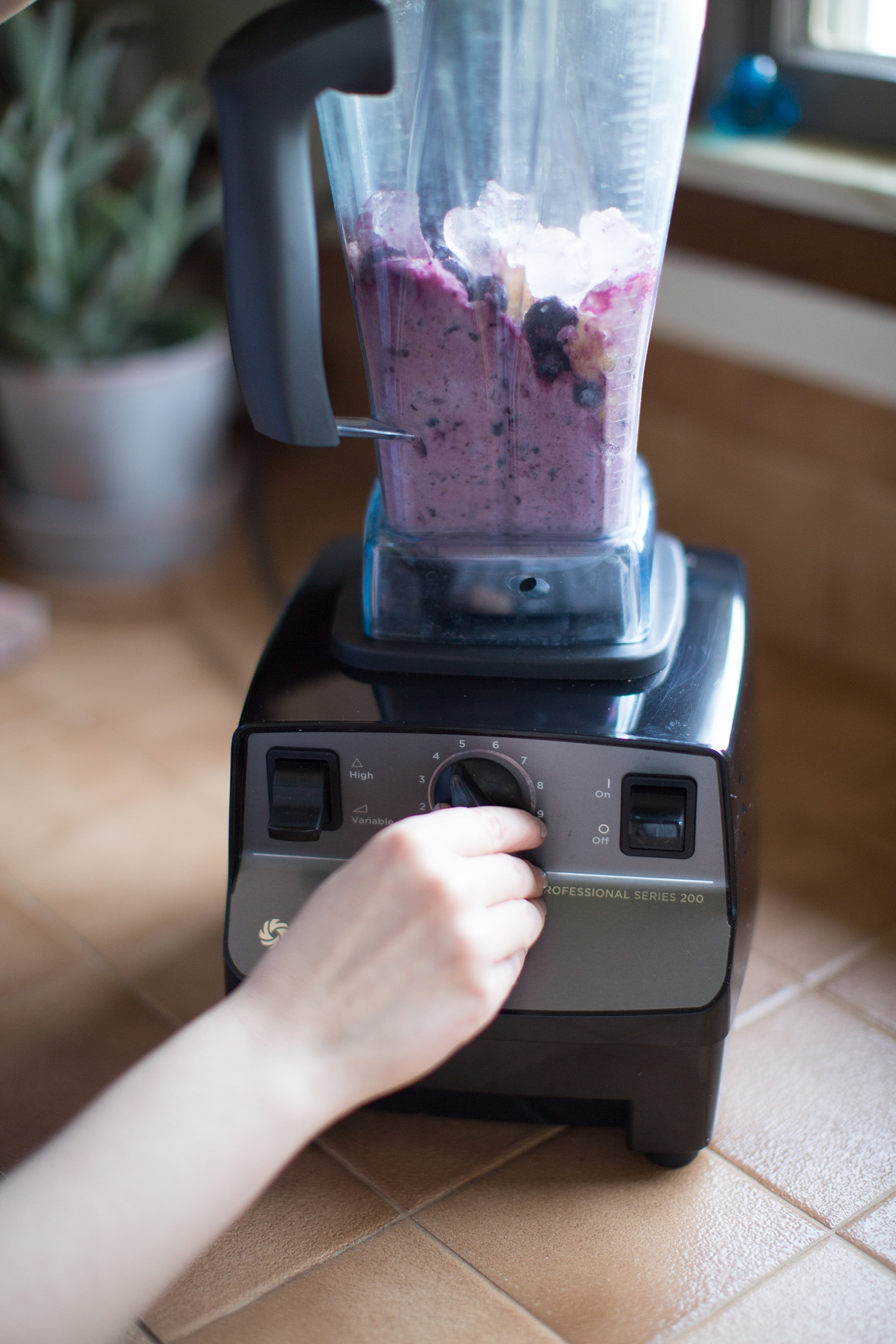Step 4: Blend-start on your lowest speed and gradually increase.