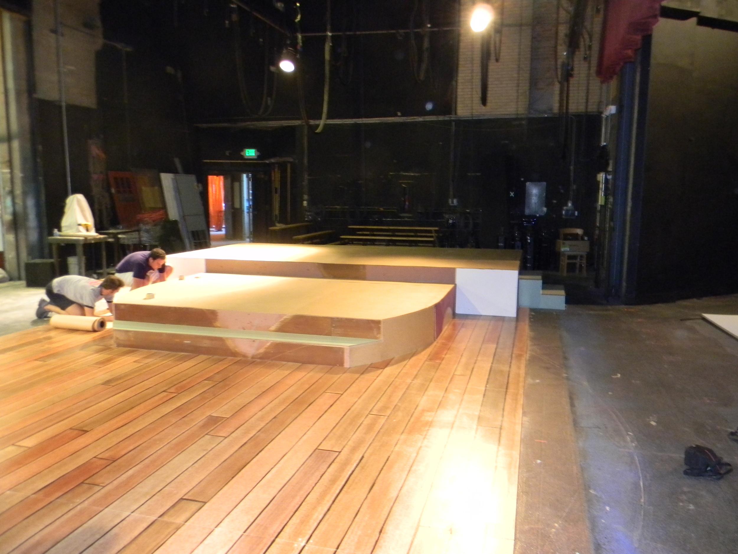 Main Deck Pre-Install