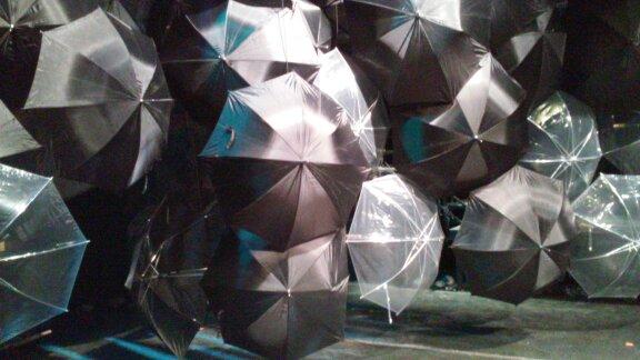 Umbrella Wall
