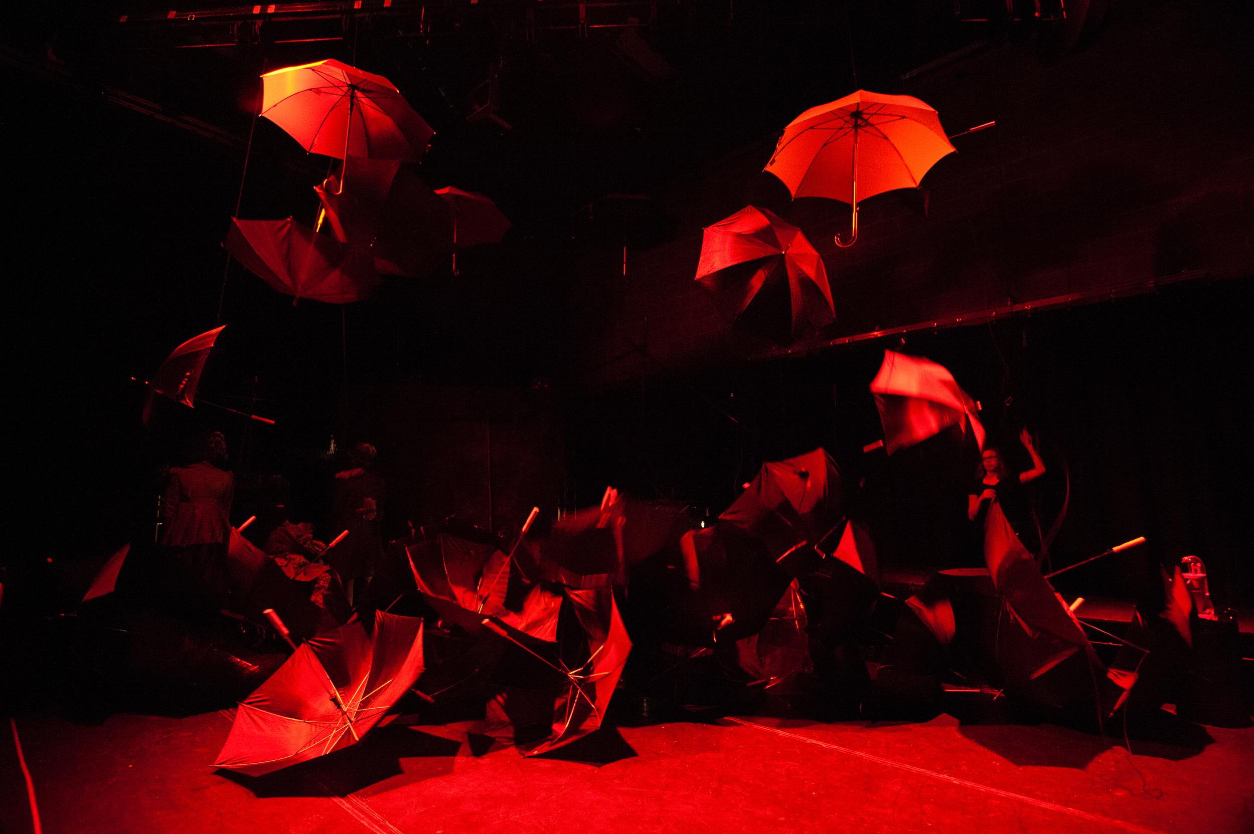 Umbrella Wall Mid Fall