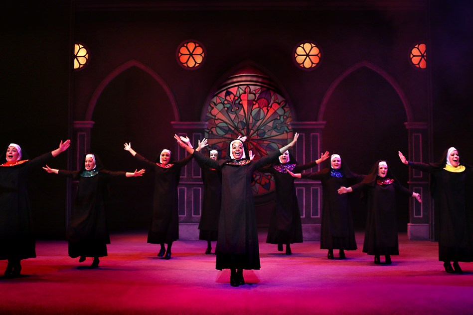 Sister Act    Arizona Repertory Theatre Fall 2018    Position: Technical Director (Student) Directed by: Christie Kerr Scene Design by: Jason Jamerson Lighting Design by: Tori Mays Costume Design by: Ryan Moore
