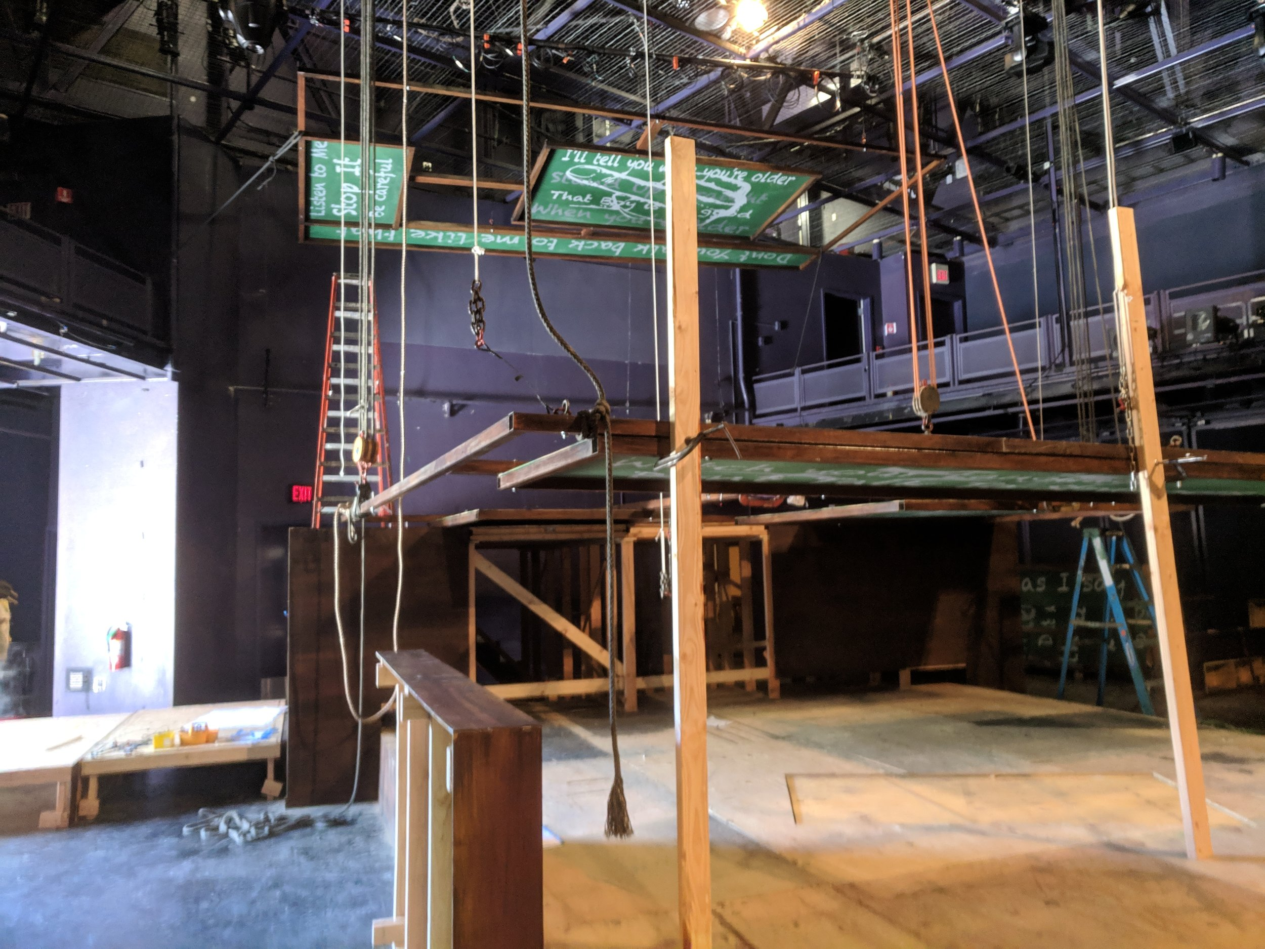 Ceiling Load-In