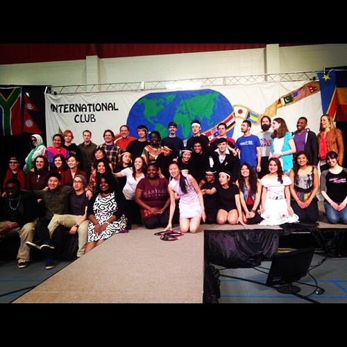 Our group after last year's ethnic fair!