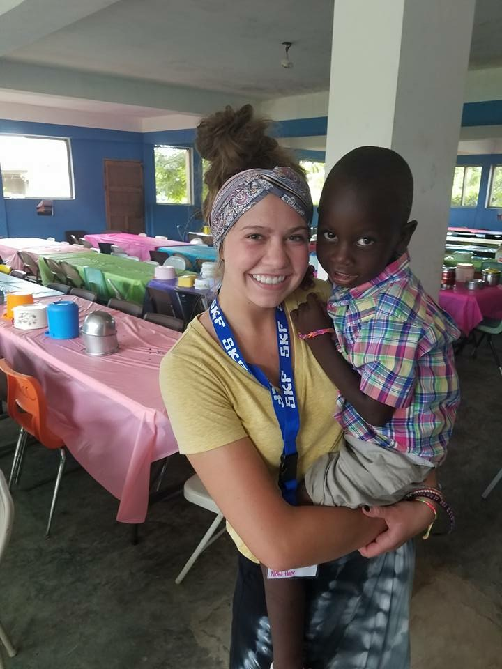 This photo was taken on a previous mission trip to Haiti.