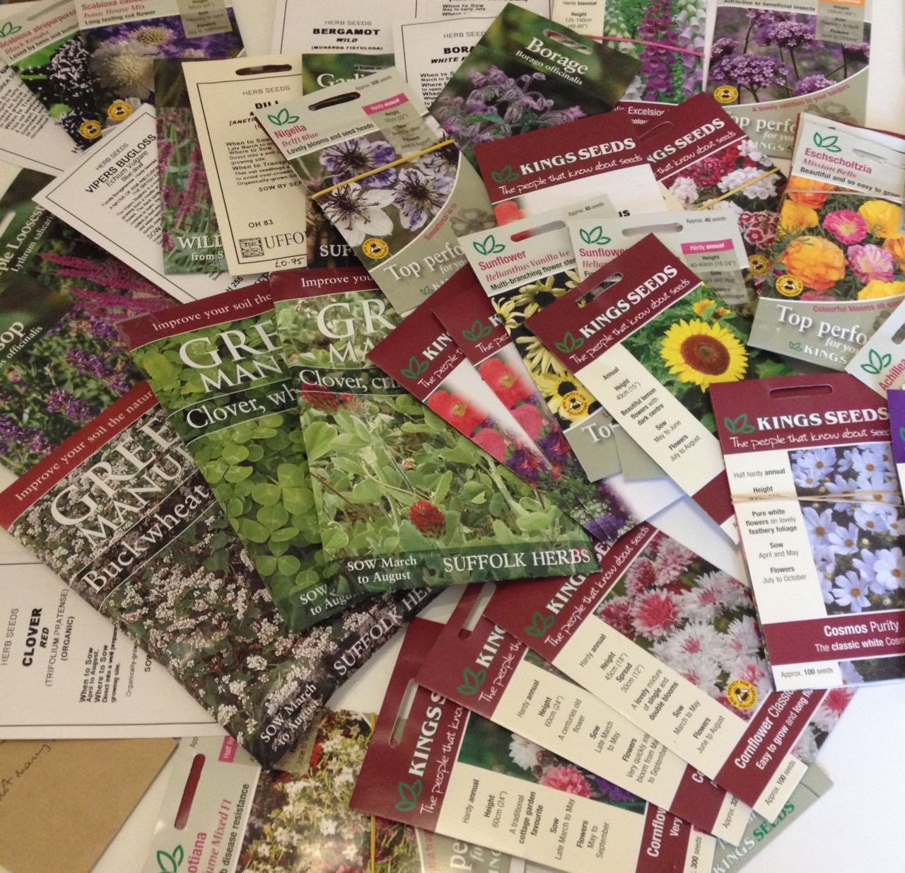 Just part of the seed order... but many of the packs are less than £1 each.