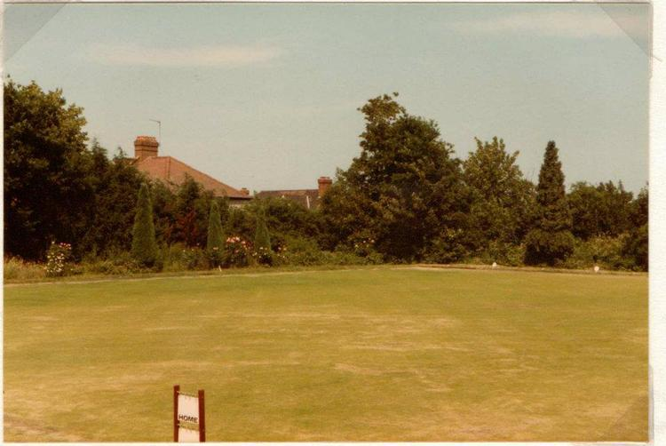 [date?] Apparently, Nightingale bowling green, from a Facebook page on 'Cambs bowls and its history' (no longer online). It is tricky to work out where this was taken...