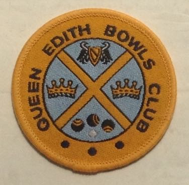 June 2015: badge found in the bowls club hut