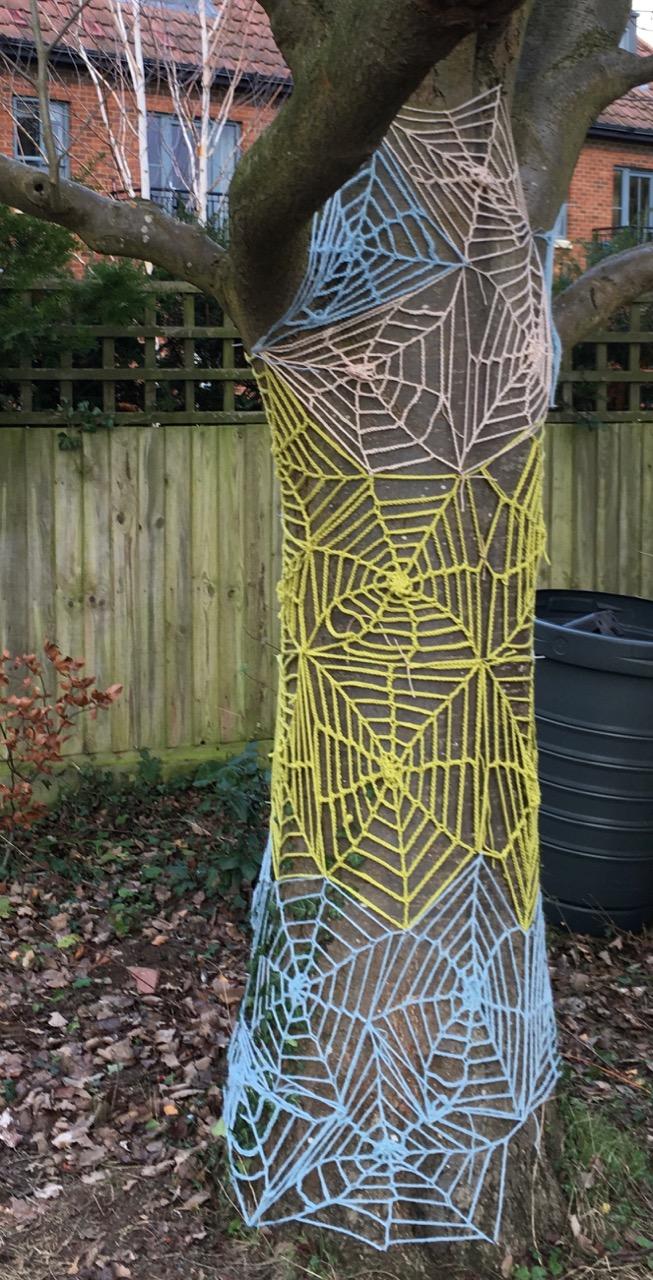 We had a bit of a festive yarn bomb last Sunday…
