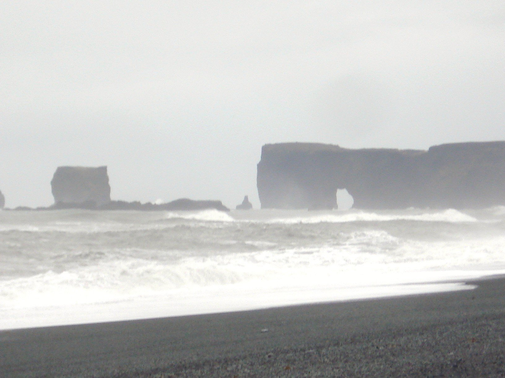 Iceland - Dyholaey, the most southern point of country.