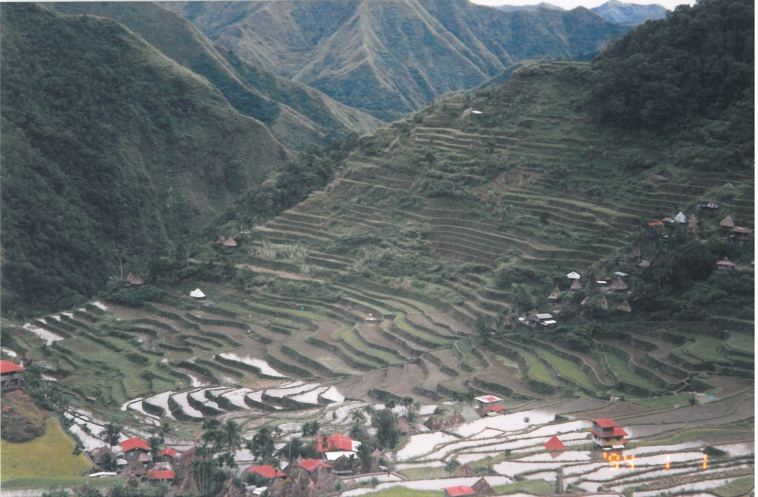 Batad, Philippines - famed for its rice terraces