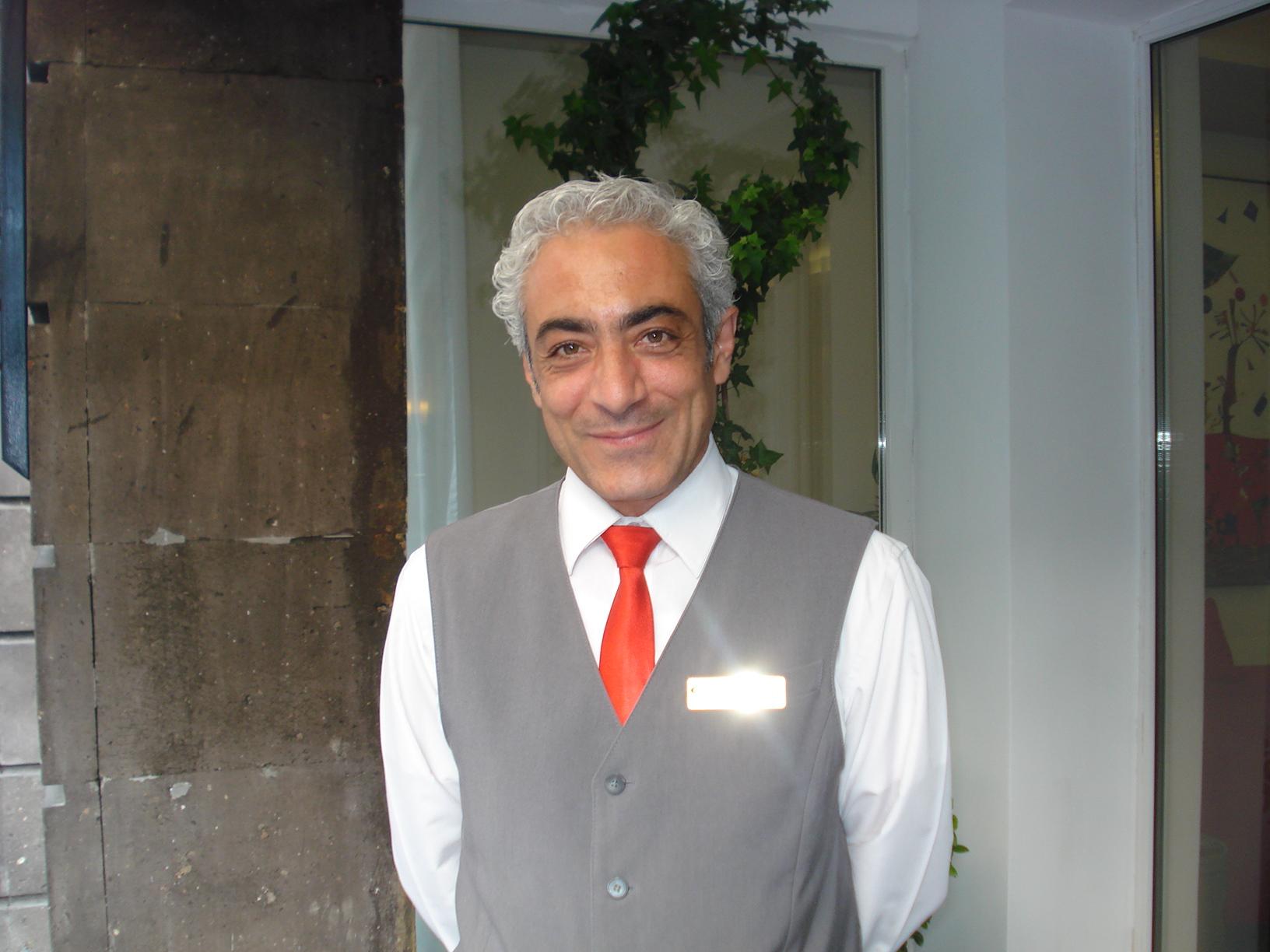 Yerevan, Armenia - Hotel Doorman