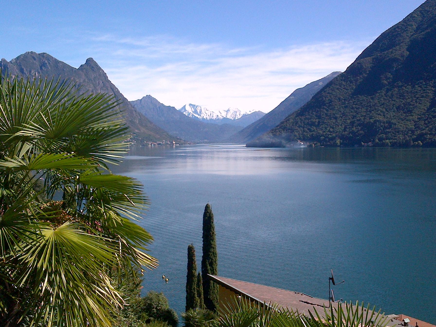 Gandria, Switzeralnd, just a couple miles north of Lugano