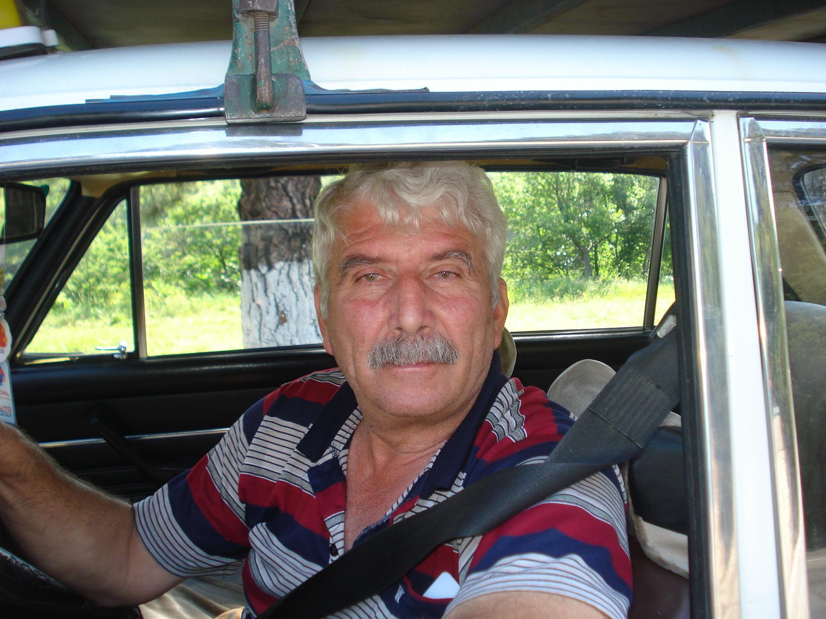 Georgian cab driver.