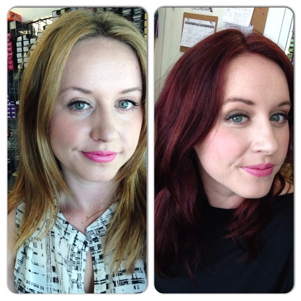 Rebecca Beardsley Hair Color Before and After