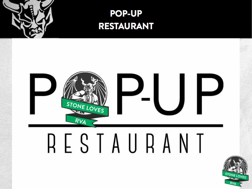 Stone Pop-Up Restaurant