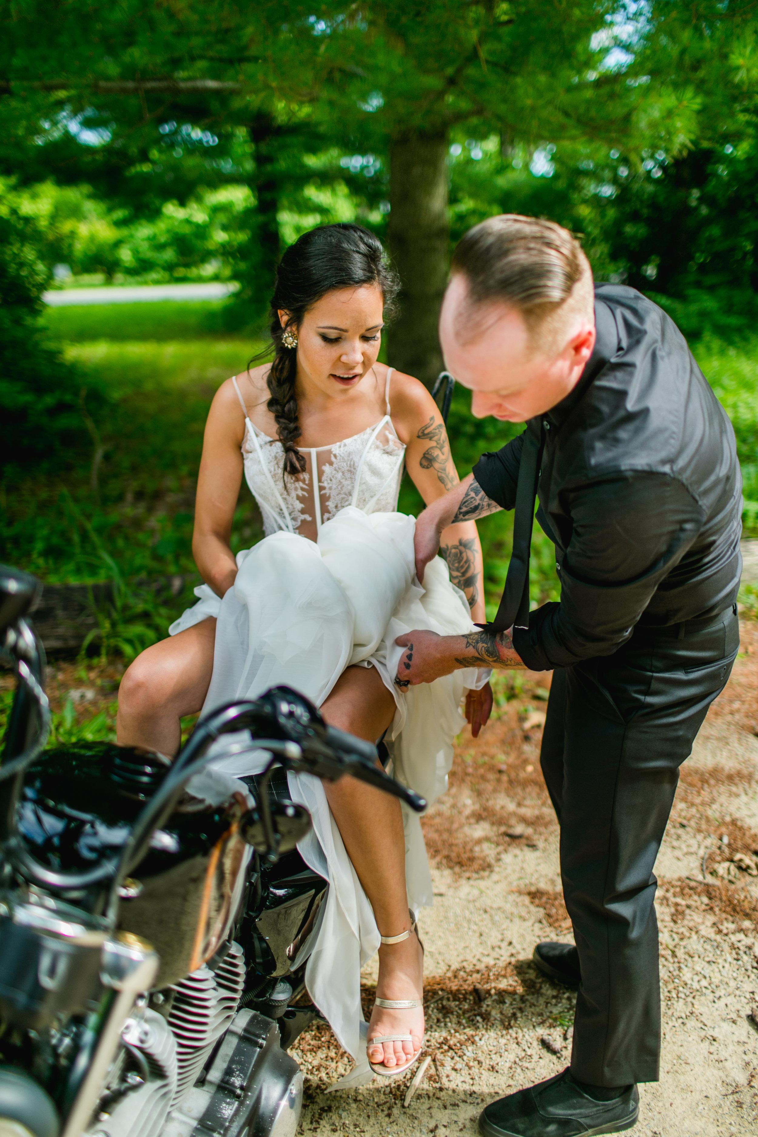 Arboretum Wedding Photo Madison, WI