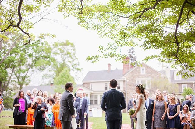 Three years ago today these love birds got married at their home in the outskirts of Philly. They celebrated amongst dear friends and family, and we were honored to photograph their celebration... and then to return last year to photograph the anticipation of their son's arrival! Happy day, H+J! We love you! ♥️