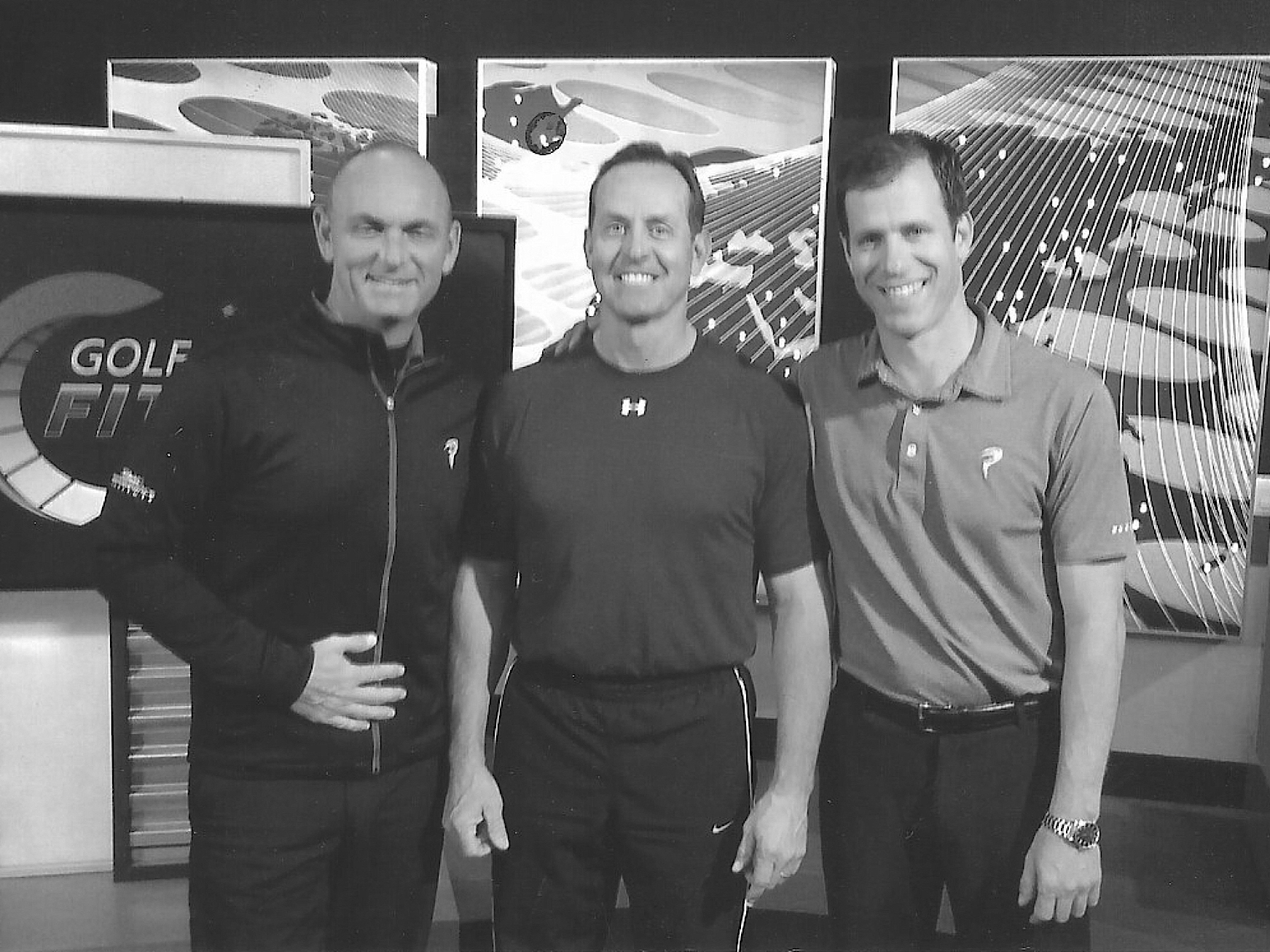 Ken with Titleist Performance Institute Founders Dave Phillipsand Dr. Greg Rose