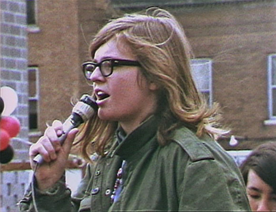 Ellen Pence in the 1970s