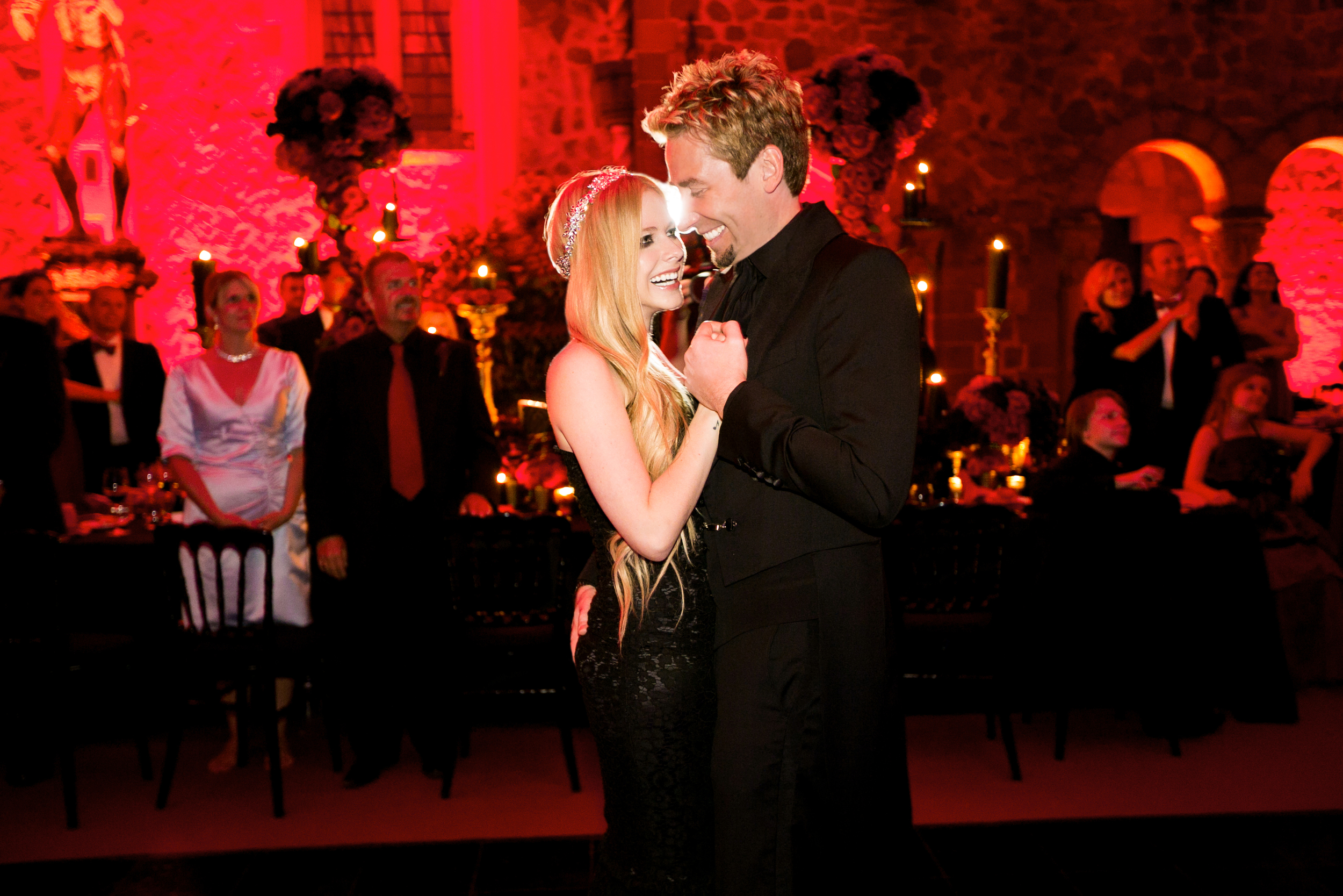 avril lavigne and chad kroeger wedding photography 0002