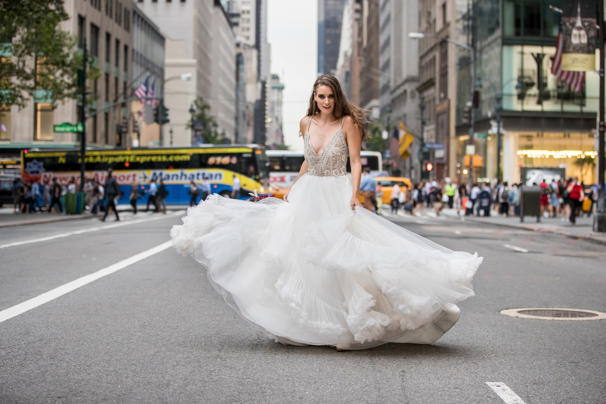 new york city wedding dress bride photography 0024