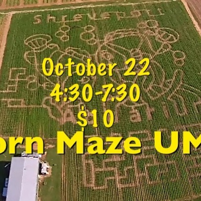 Corn Maze l  UMY ... Stay tuned for Weather Update