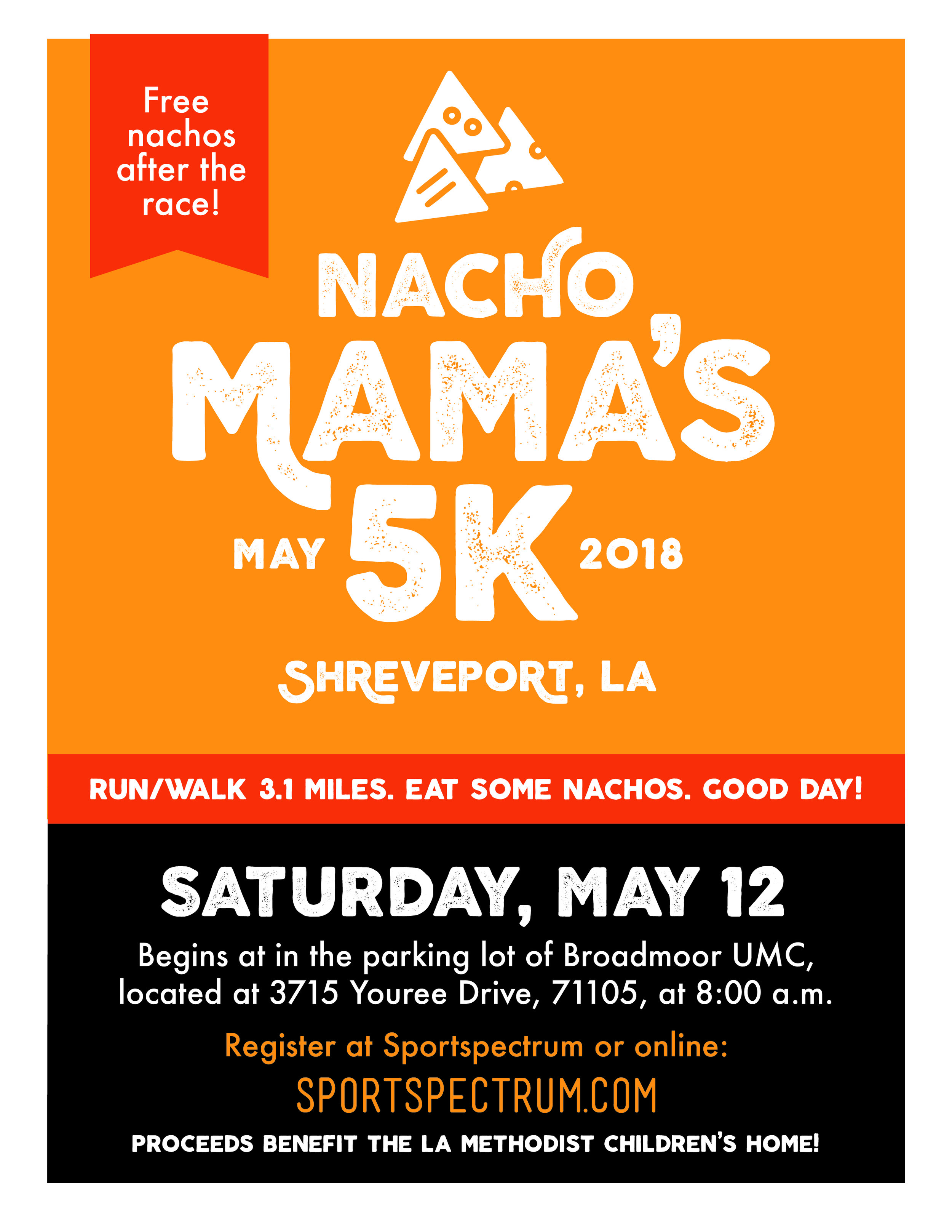 In this Edition - The Nacho Mama's 5K!A Mother's Day Note from Dr Greg DavisNew Director of Youth MinistriesNew, Exciting Events!New Members, Baptism & MemorialsThe BOLD Campaign - BRINGING IT HOME!