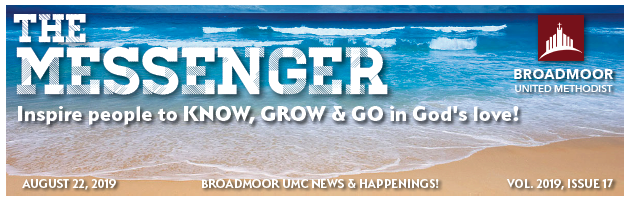 THE MESSENGER 8/22/2019 - SIMPLIFIED ACCOUNTABLE BOARD SYSTEM, PART 3YOUTH MINISTRIESCHILDREN'S MINISTRIESNEWS & UPCOMING EVENTS…AND MUCH, MUCH MORE!