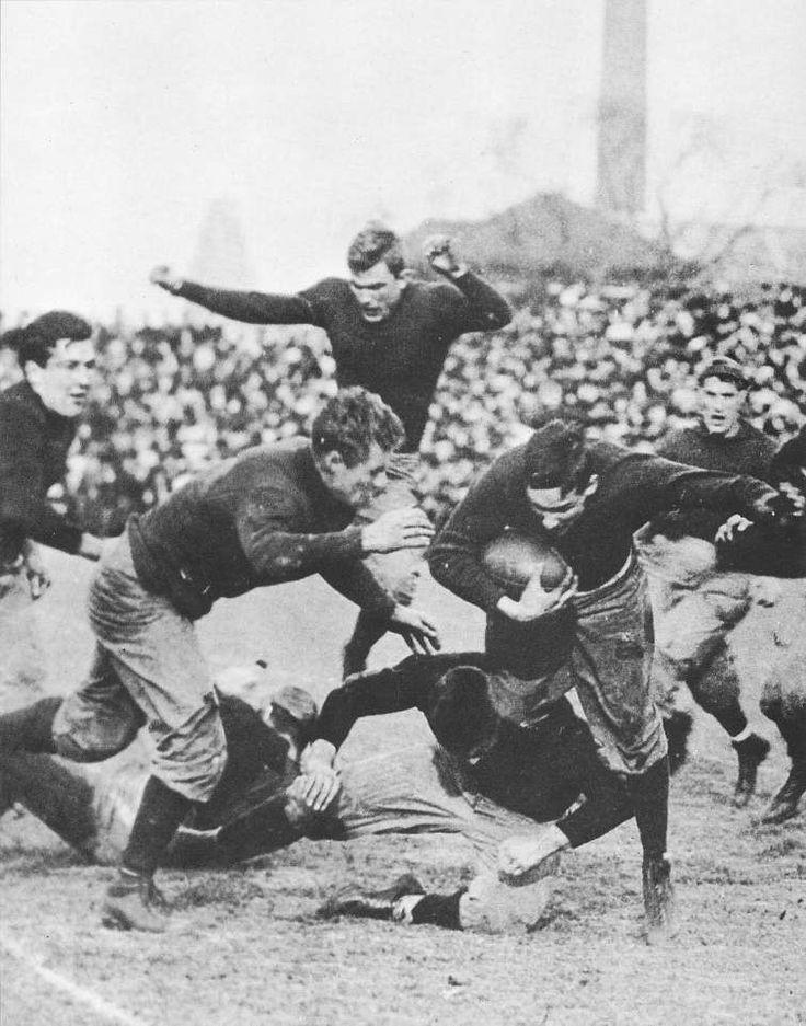 T he Gane 1907: Harvard v. Yale and the year of the strangled bulldog