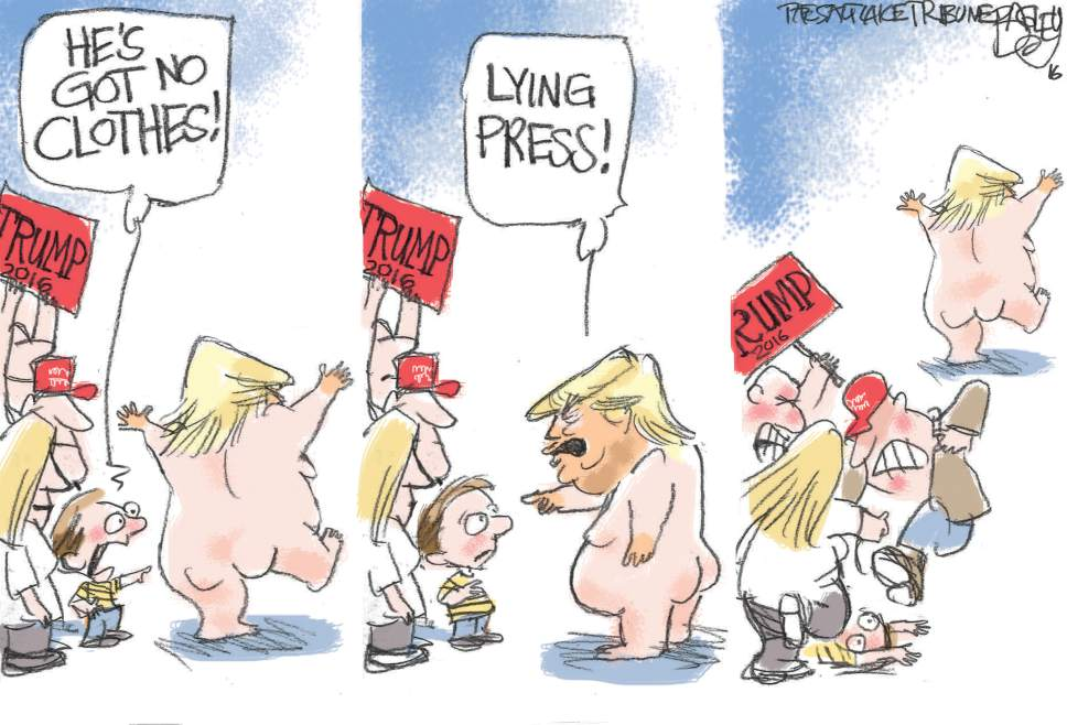 Courtesy Pat Bagley and The Salt Lake Tribune