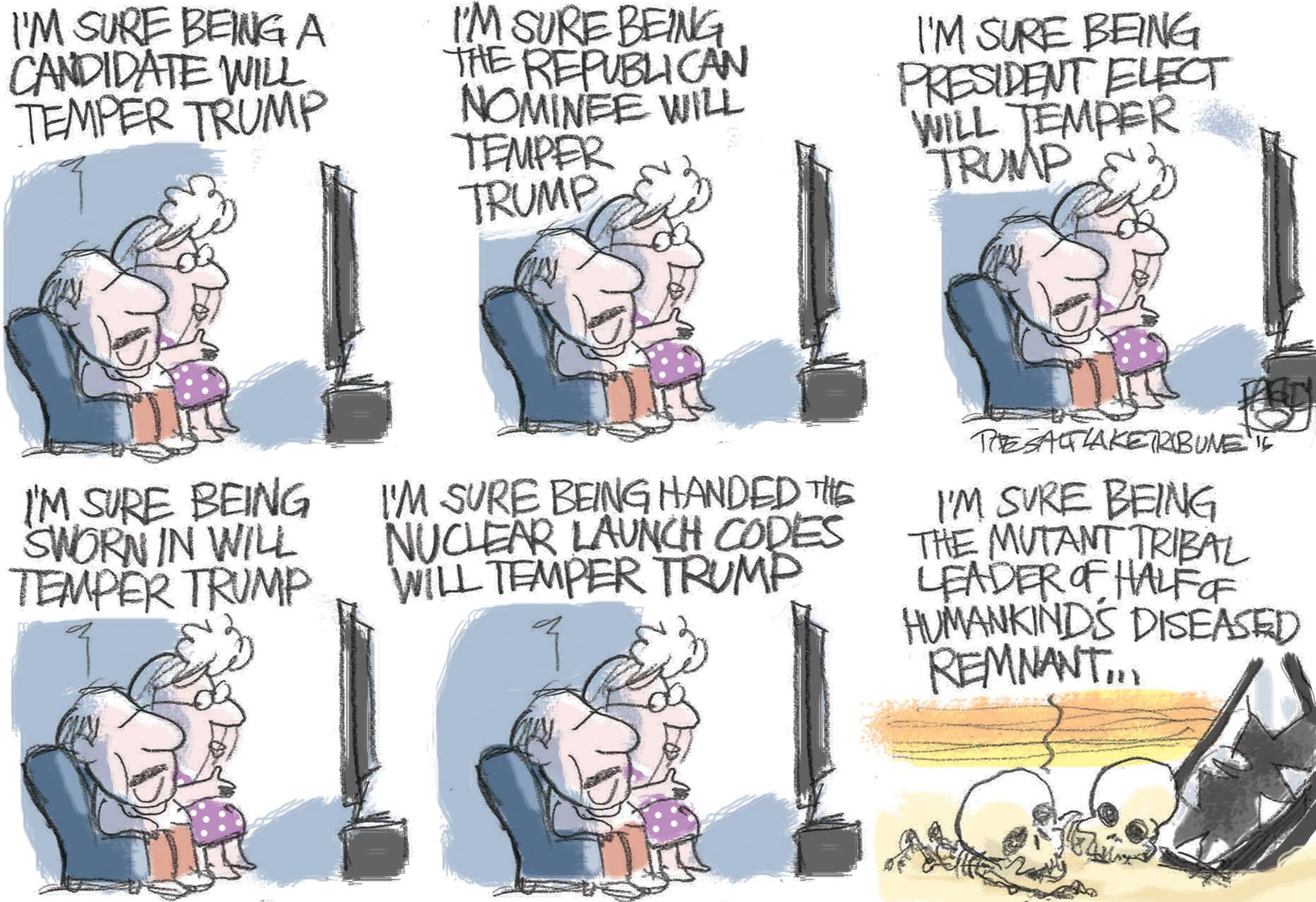 Pat  Bagley, Salt Lake Tribune