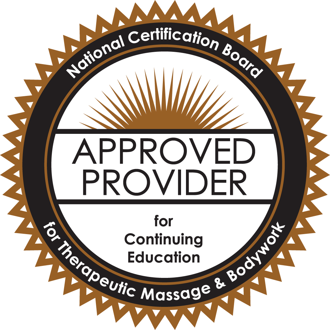 Phila Massages is approved by the National Certification Board for Therapeutic Massage & Bodywork (NCBTMB) as a continuing education provider.