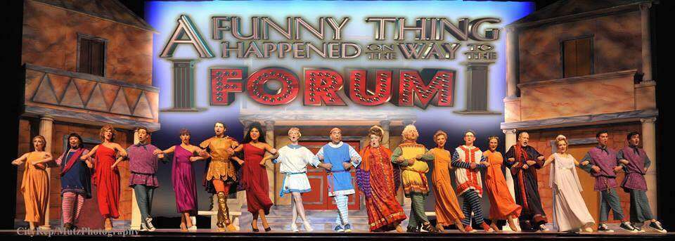 Miles Gloriosus in A Funny Thing Happened on the Way to the Forum with OKC Repertory Theatre