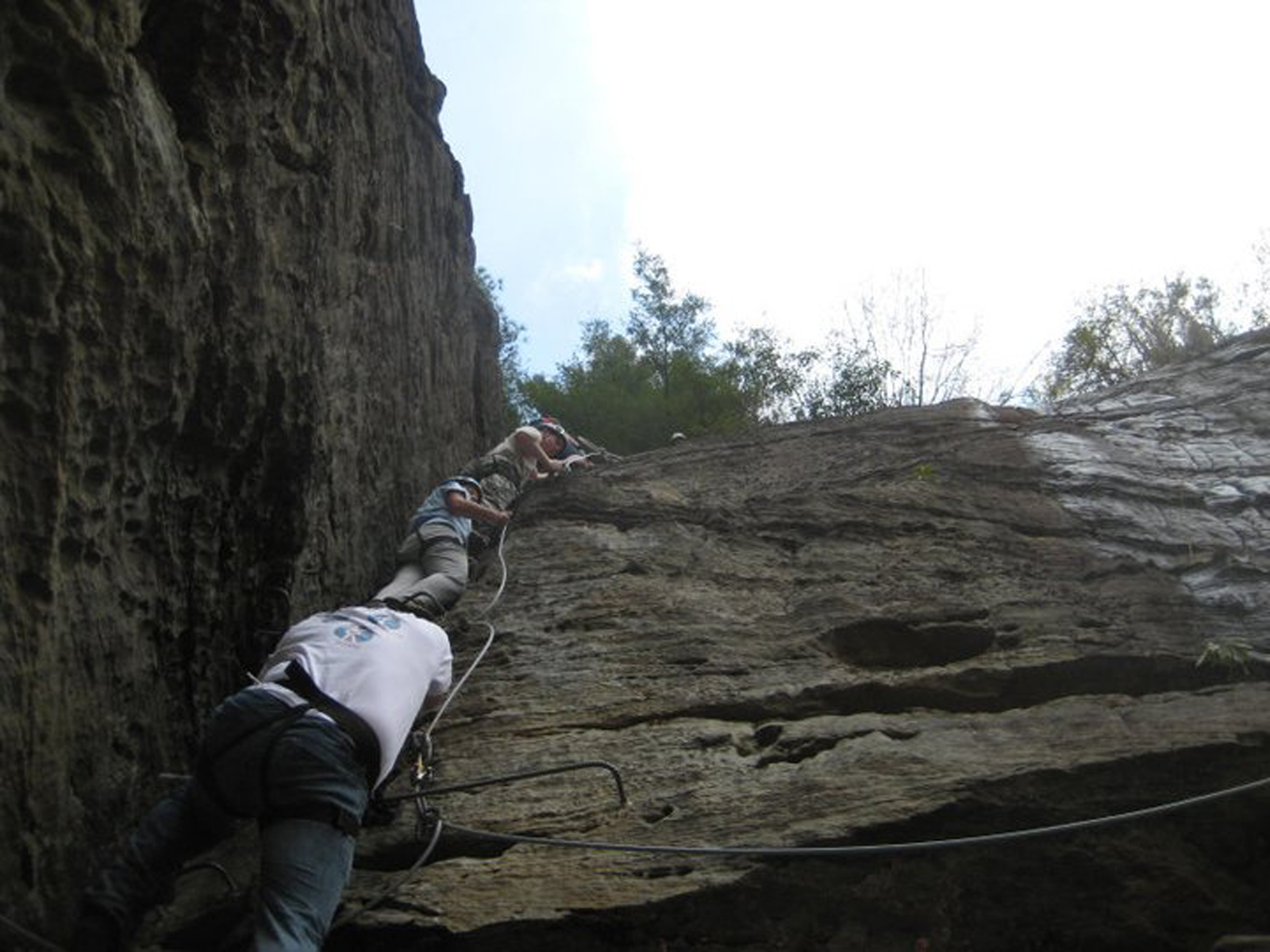 Rock Climbing in Kentucky