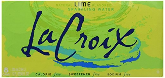 La Croix Sparkling Water (Lime is my fav!)
