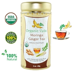 Organic Veda Moringa Ginger Tea