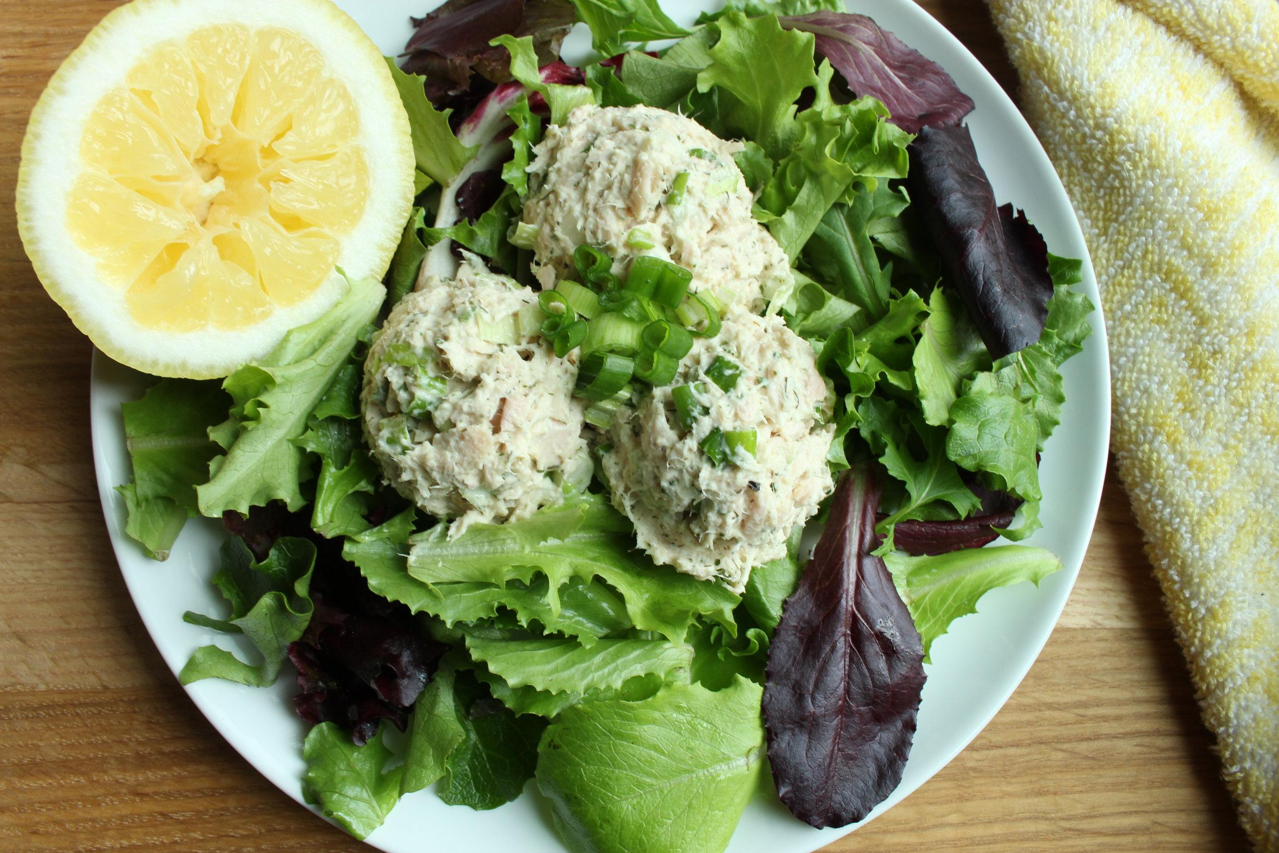 Tuna Salad over Mixed Greens - 2.JPG
