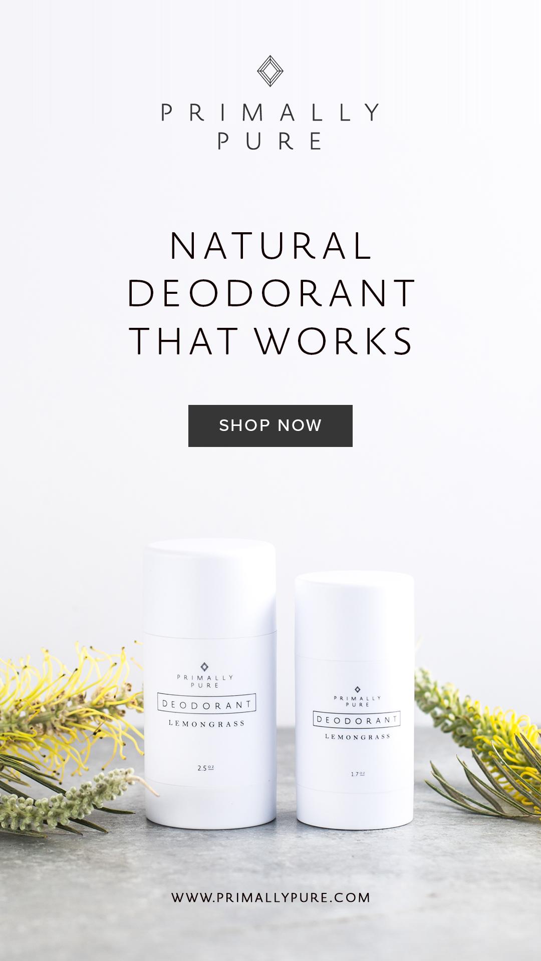 Primally Pure Deodorant  (use code: hitenutrition10 for 10% off)