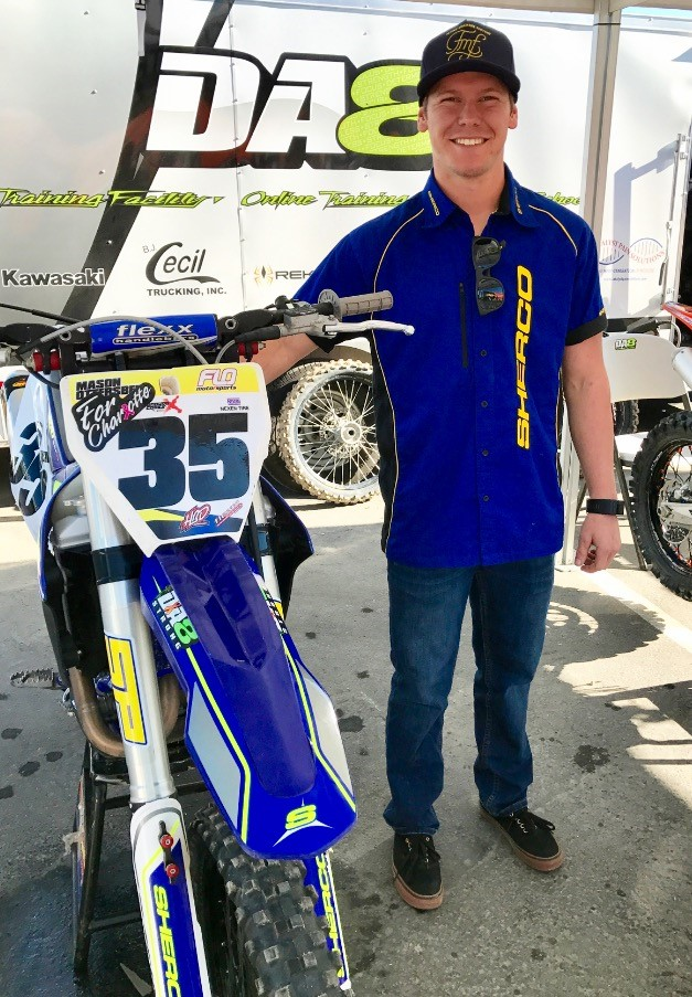 In addition to Nick, Sherco Offroad is pleased to announce that Mason Ottersberg (pictured to the right) will be competing on a Sherco SEF 300 R four stroke in the Endurocross series and will also compete in selected