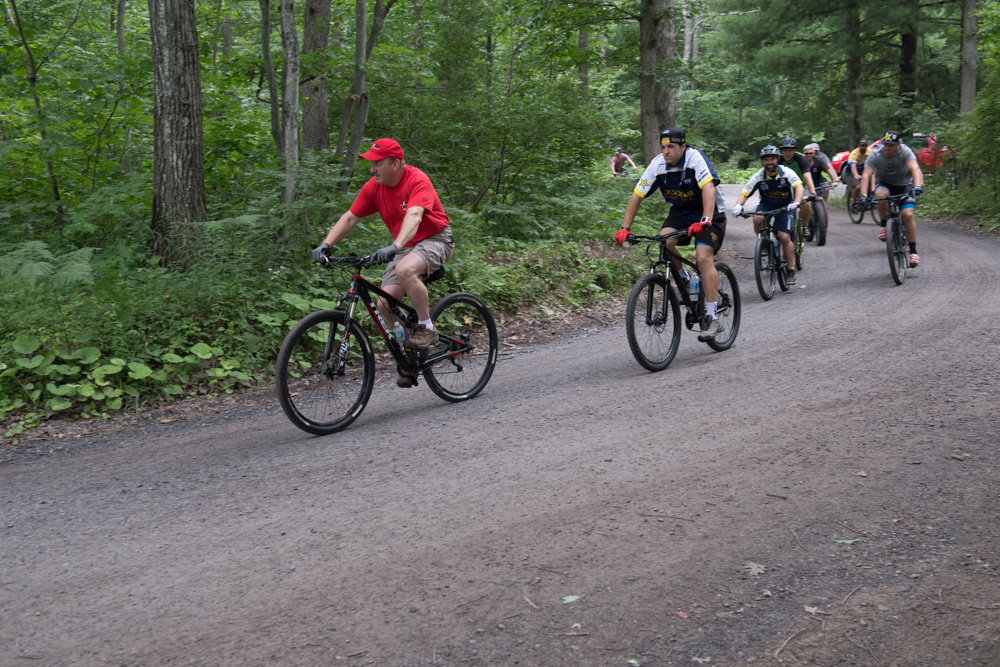 The NEPG invites you to join us and many of the pro riders of the AMA National Enduro Series to a bicycle ride at the Lead Belt National Enduro. There will be options of a 5-mile paved, 11-mile paved or combo 5-mile paved/5-mile trail ride.  The ride will start at 3pm on Saturday Sept.16th in the staging area of the enduro, just south east of the Missouri Mines Museum. The ride will utilize the 11-mile paved bicycle path that twists through the forest of the St Joe State Park, intersecting the enduro course several times.  The ride will end at the famous water fall in test 6 of the event, like last year a smaller water fall next to the large one will be used. Take a close look at it with pro riders Josh Strang, Andrew Delong, Russell Bobbitt, Stu Baylor, Grant Baylor, Nick Fahringer, Drew Higgins, Cory Buttrick and more, be sure to get some pointers of the best line to take.  There is a $5 charge for the ride that will get donated to the St Joe State Park and everyone is welcome, please bring your helmets.