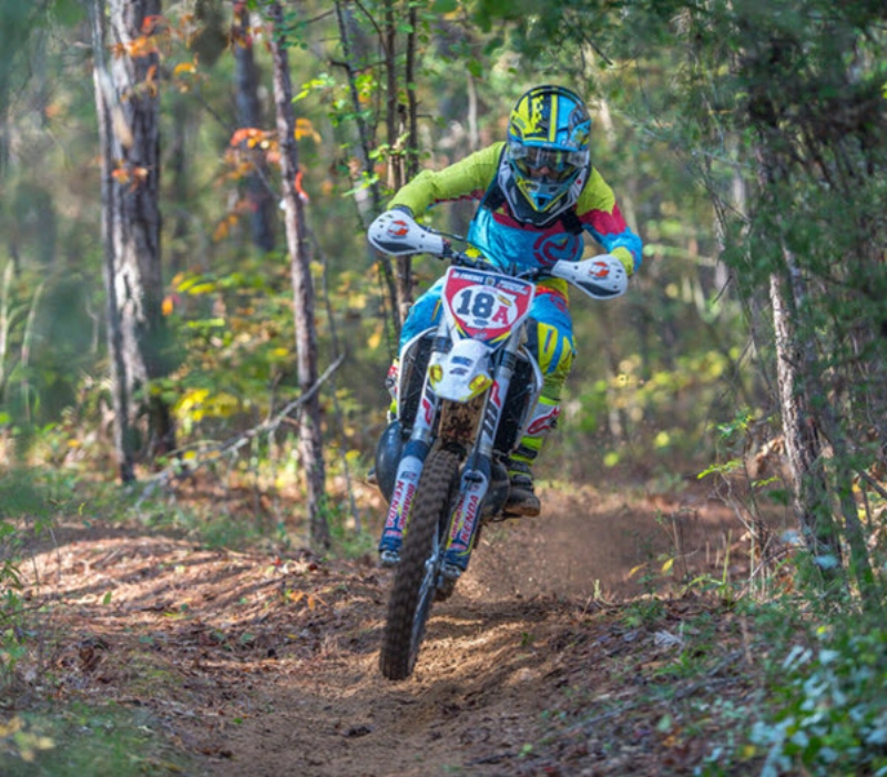 JD at Alabama's Gobbler Getter National Enduro