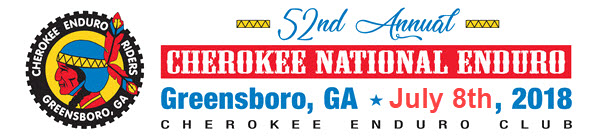 NEW DATE FOR CHEROKEE NATIONAL ENDURO
