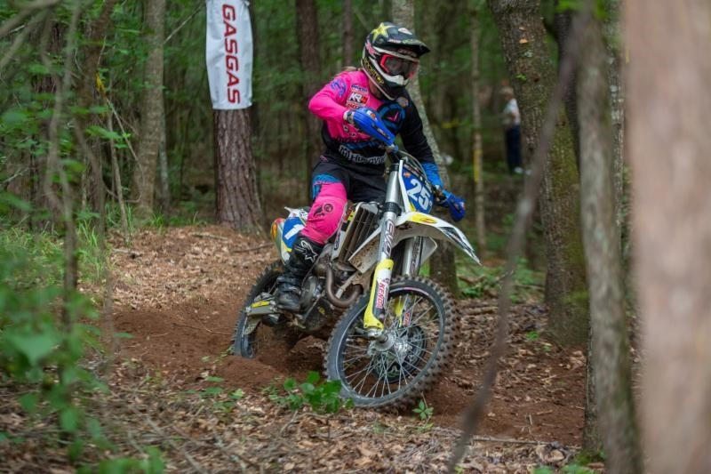 Tayla Jones secured her third win of the season in the Women's Elite class.