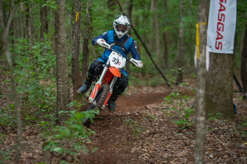 Darrin Chapman Photo of Thomas at Cherokee National Enduro