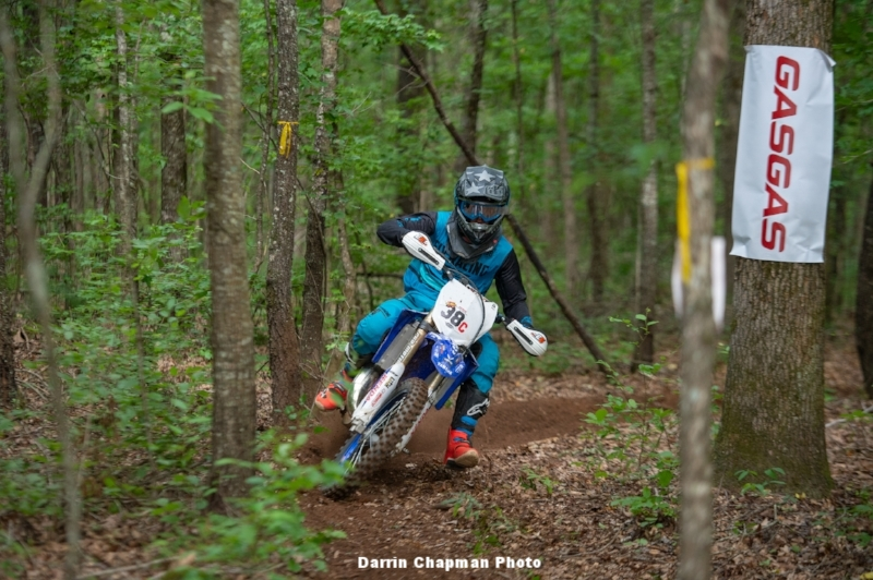 Trale on rails at Cherokee National Enduro
