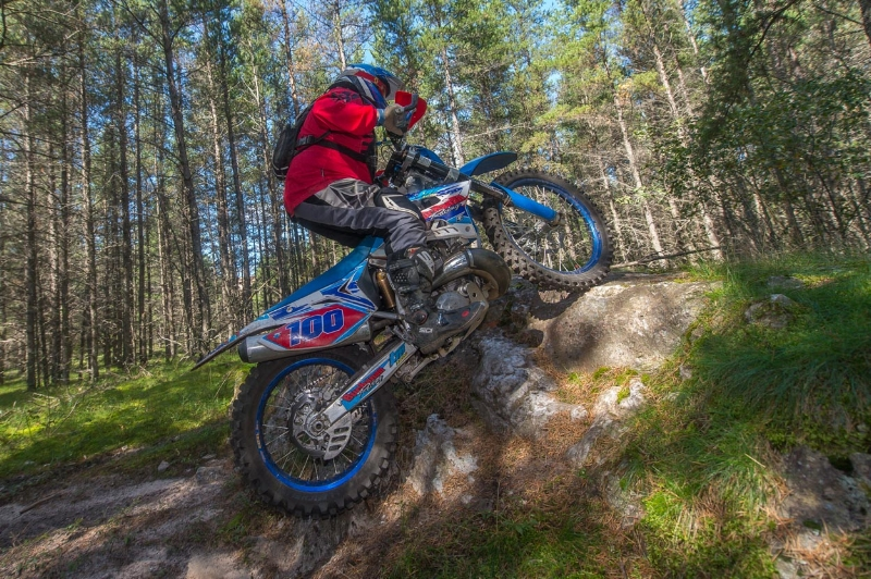 Shan Moore Photo of Josh at Loose Moose National Enduro