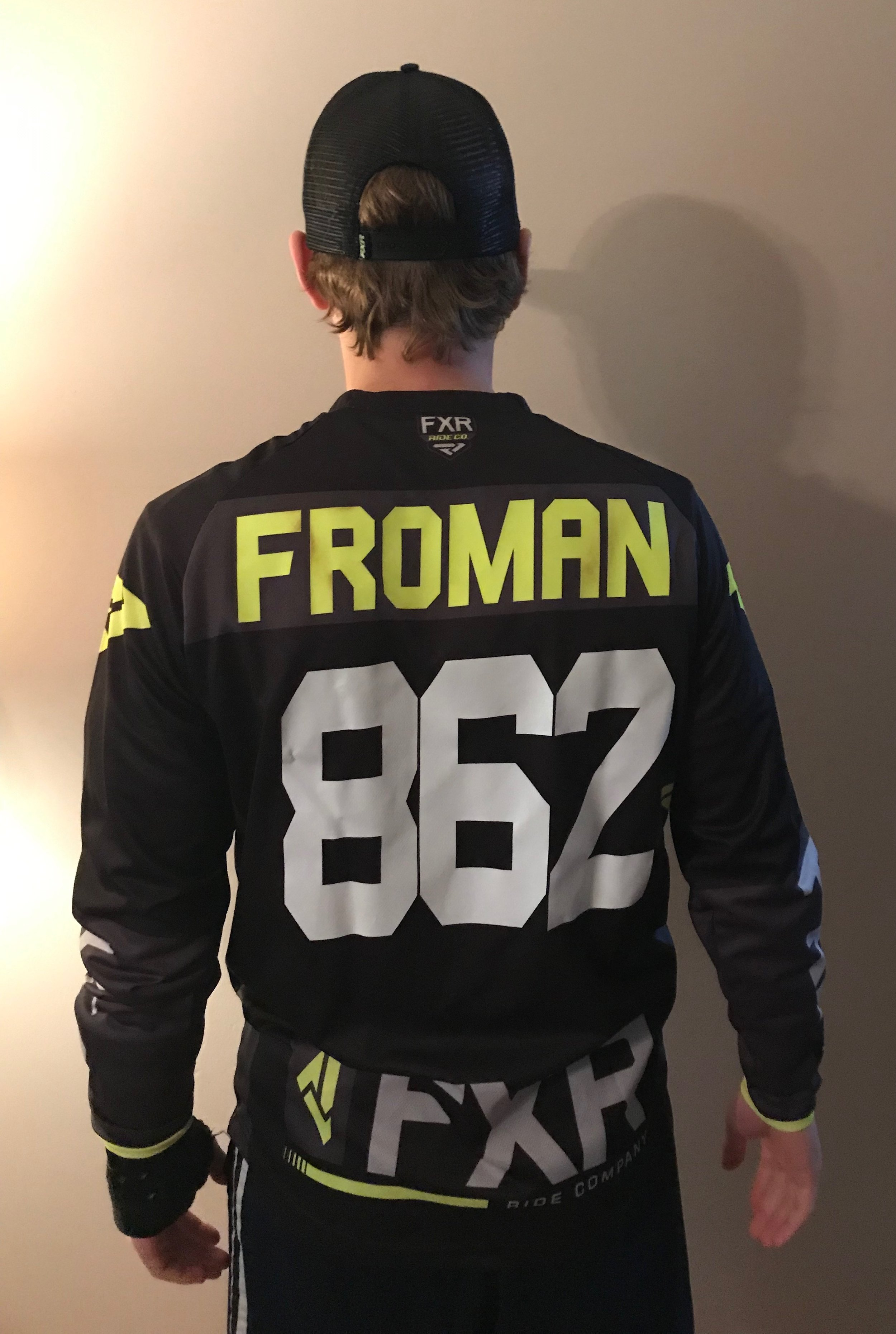 Jake Froman Autographed Jersey