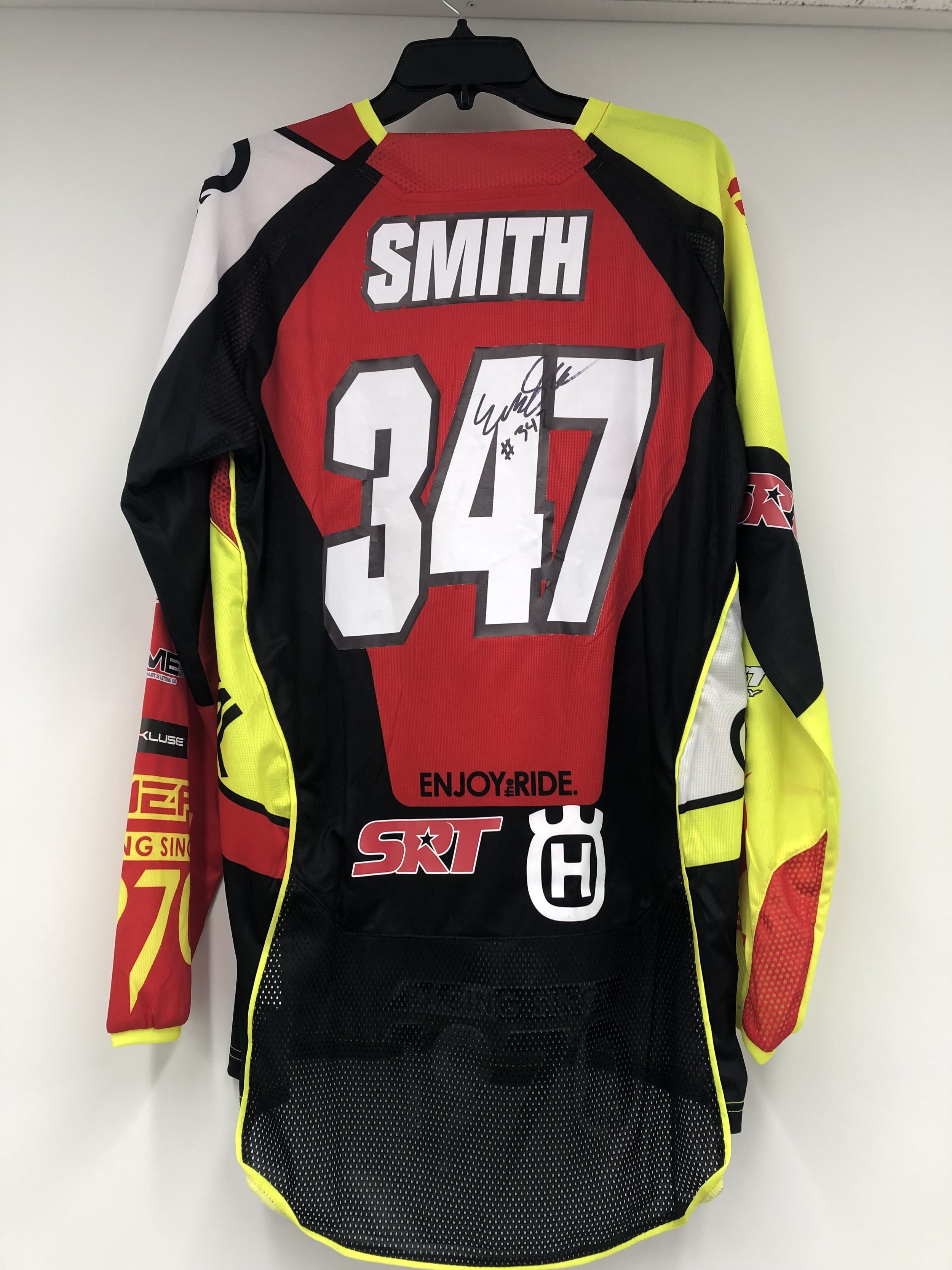 Click the image to bid on Evan Smith Jersey